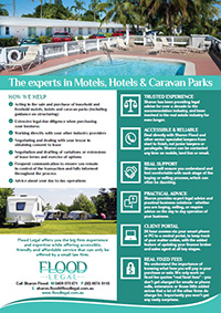 Motels, Hotels and Caravan Parks Brochure